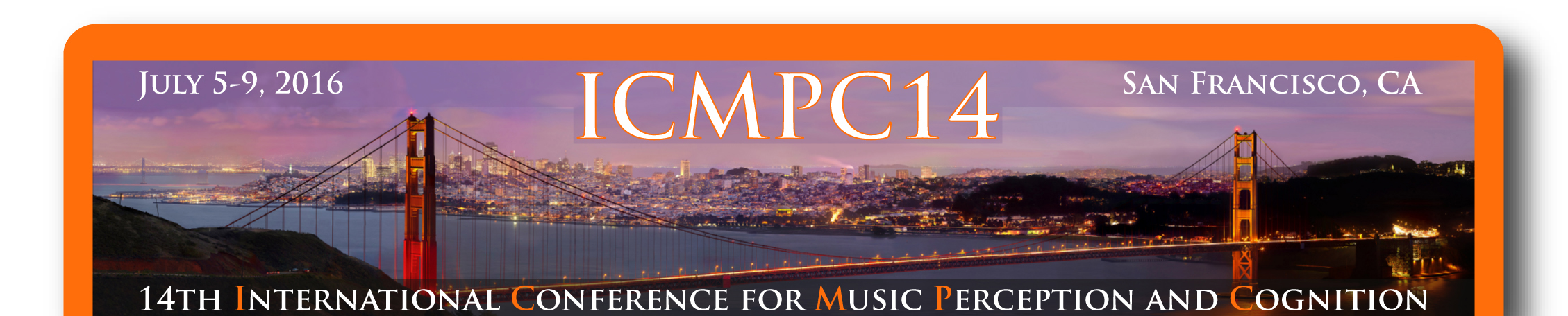 International Conference for Music Perception and Cognition 2016